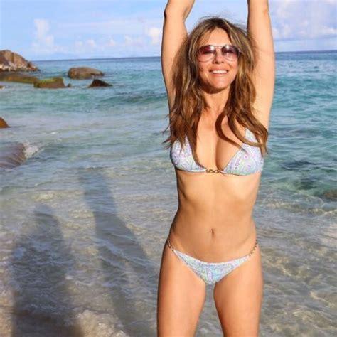Elizabeth Hurley, 52, Shows Off Bikini Body: Photo ...