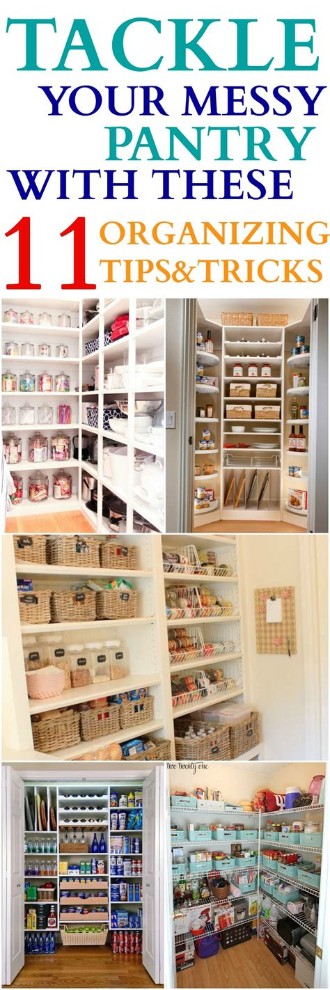 Kitchen Organizing Tricks by 11 Tricks For Tackling Your Pantry Kisses For
