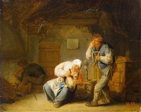 sense  smell adriaen van ostade hermitage museum