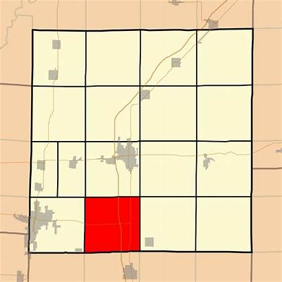 Svg Raccoon Map Illinois Marion County Township