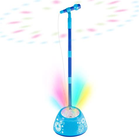 discovery kids light up musical microphone and stand amazon com first act discovery light up microphone and