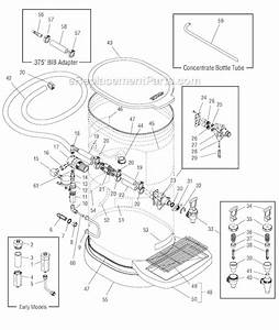 Bunn Tcd-1 Iced Tea And Coffee Dispenser Parts Images
