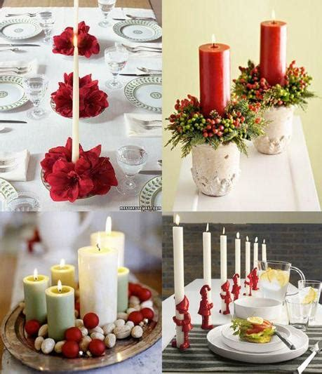 Addobbi Con Candele by Candele Centrotavola Per Natale Paperblog