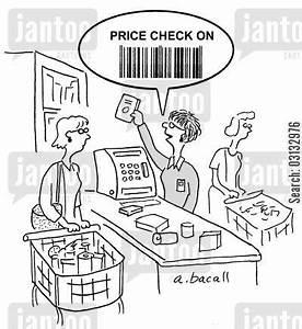 checkouts cartoons - Humor from Jantoo Cartoons