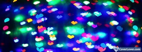lights hearts cover maker fbcoverlover