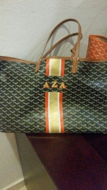 goyard monogram personalized goyard initials personalized personalization painted monogram