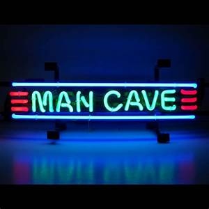 Man Cave Banner Neon Sign  Ni-5mancs