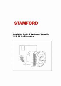 1000 Kva Stamford Alternator Data
