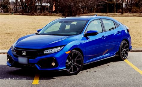 Redesign For New 2019 Honda Civic Hatchback