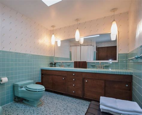 Mid Century Modern Bathroom Colors by A Spectaular Exle Of An Original Mid Century Modern
