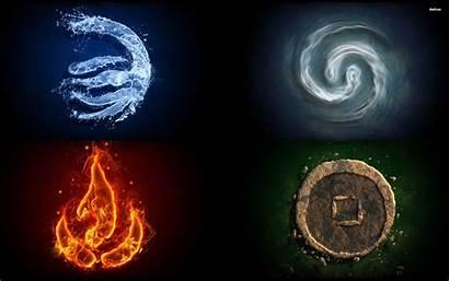 Elements Four Nature Fondos Elementos Wallpapers Elemente