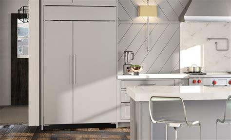 classic side  side refrigeratorfreezer panel ready bi