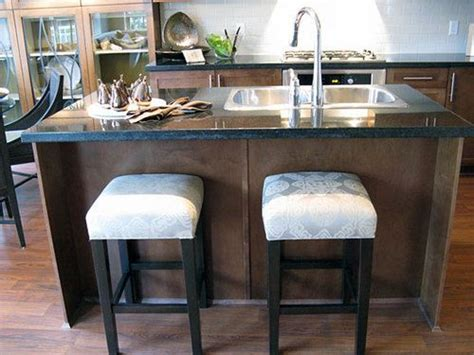 small kitchen island with sink kitchen island with sink and stools home