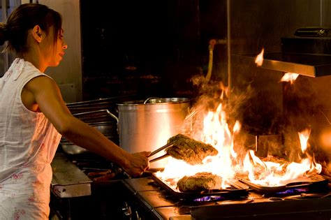 commercial kitchen   perfect cooking
