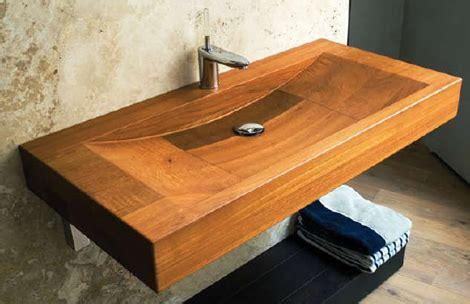 vasque en bois teck consobrico