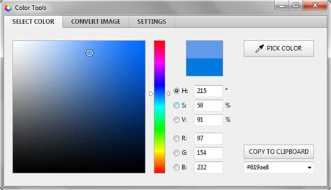 color tools color picker image editor and screen capture utility