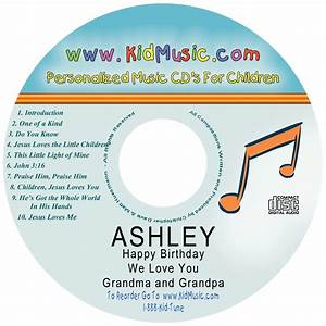 the quick and easy way to help your child know that god With custom printed cd labels