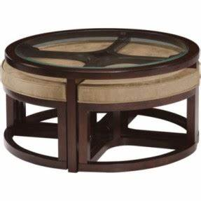 coffee table round coffee table with seats underneath With coffee table with nest of tables underneath