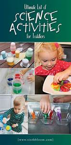 34 Science Activities For Toddlers