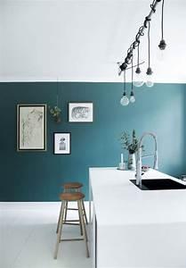 Colore verde for Parete cucina verde