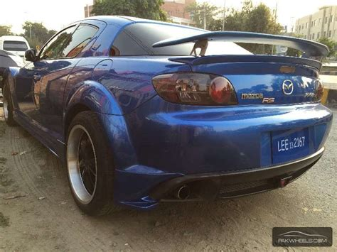 what kind of car is mazda used mazda rx 8 type rs 2003 car for sale in lahore