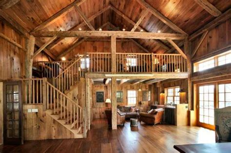 barn converted to house farmhouse cultivates modern amenities vintage