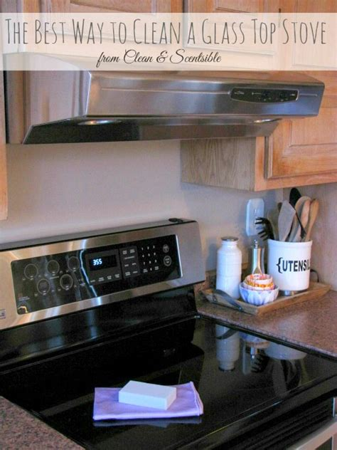 how to clean glass cooktop how to clean a glass top stove clean scentsible