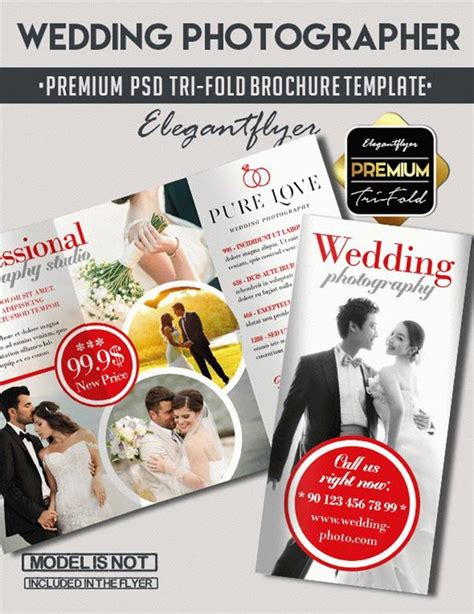 Wedding Free Tri Fold Psd Brochure Template By 10 Free Exclusive Photography Brochure Templates In Psd