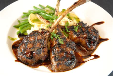 Lamb Chops with Side of Chefs Choice - Russia Restaurant