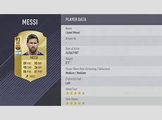 FIFA 18 player ratings Lionel Messi, Neymar and the top