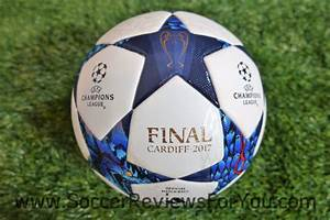 adidas 2017 Cardiff Finale UCL Official Match Ball Review ...