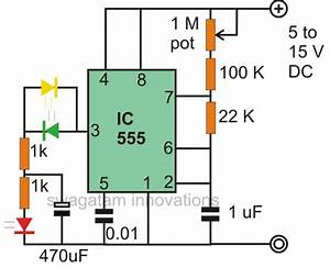 Make Interesting Flasher And Fader Led Circuits Using Ic