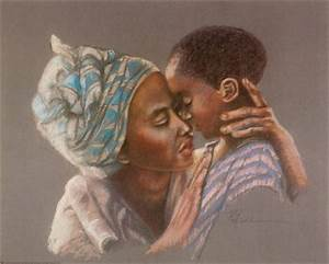 Mother and Son - Pam McCabe Poster :: PicassoMio