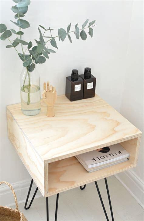 idees deco avec une table de chevet originale