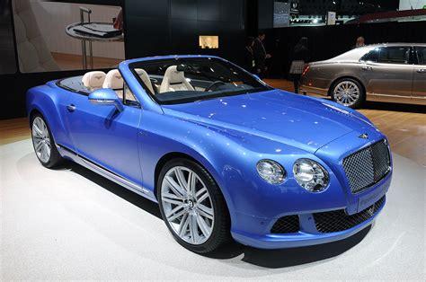 2014 Bentley Continental Gt Speed Convertible Runs Topless