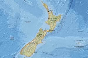 Wellington Earthquake  New Zealand Capital Rocked By