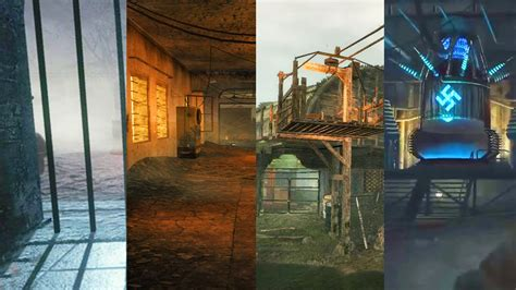 All Waw Zombie Maps In One Stream (call Of Duty