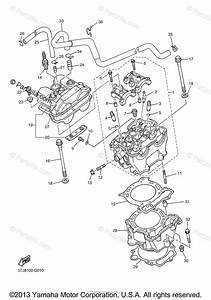 Yamaha Motorcycle 2006 Oem Parts Diagram For Cylinder