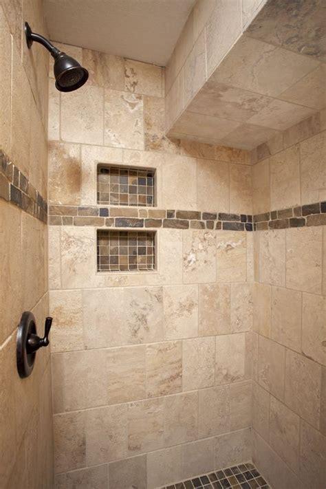 natural travertine  brick lay natural slate niche