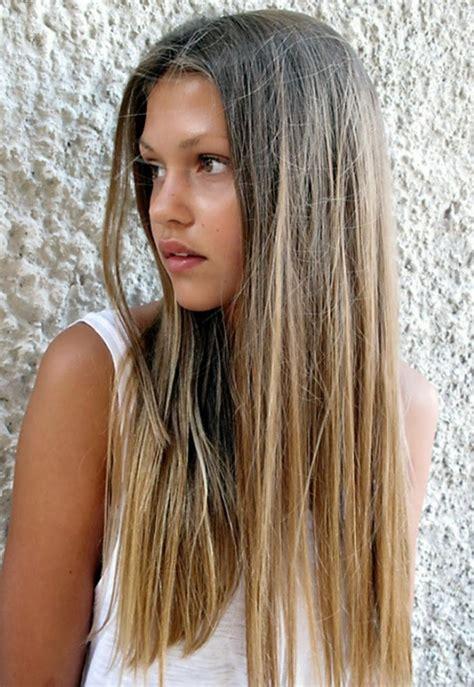 balayage blond ou caramel pour vos cheveux chatains