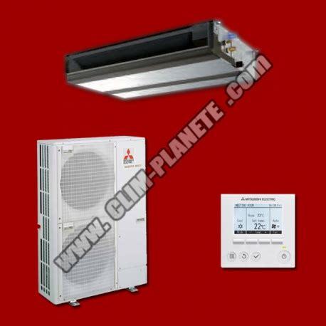 climatiseur inverter gainable pead m125ja puhz p125vka mitsubishi electric