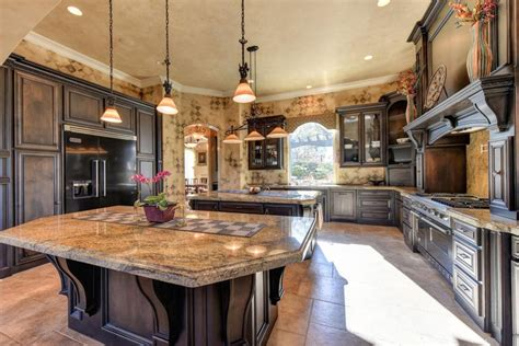 35 Luxury Mediterranean Kitchens (design Ideas Cool Bedrooms For Guys French Country Home Exteriors How To Decorate A House Kitchen Sink Light Abc Decor English Decorators Overland Park Modular Pricing