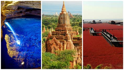 Top 10 Wonders Of The World You Didn't Know About! Feedmaza