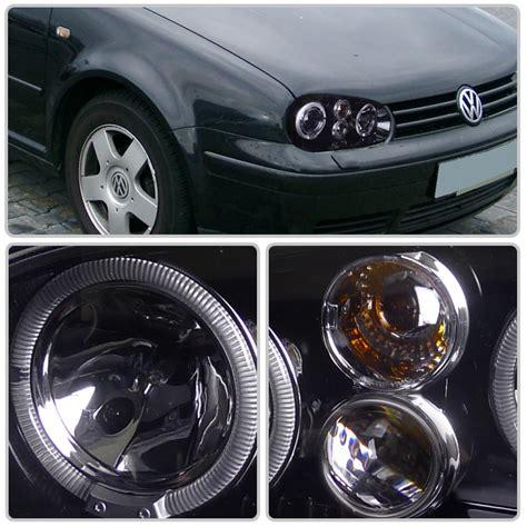 99 05 volkswagen golf gti mk4 eye halo projector