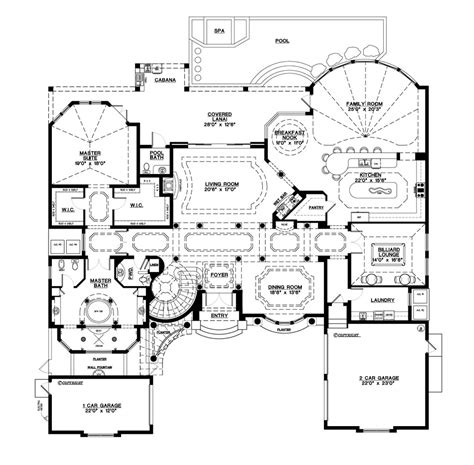 mediterranean style house plan  beds  baths  sq