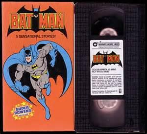 Batman VHS Tape
