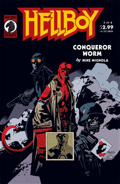 mike mignola mastered  wordless page  hellboy