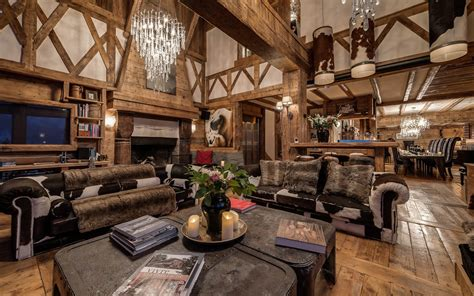 luxury ski chalet chalet le rocher val d is 232 re firefly collection