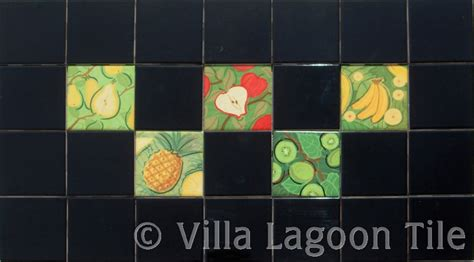 fruit and vegetable accent tiles villa lagoon tile