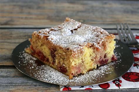 semi homemade cherry cake recipe